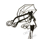 Sailor Moon Die Cut Vinyl Decal Sticker *Rainy Serenity* -Iphone, Ipad, Laptop, Mirror, Car, Windows, etc