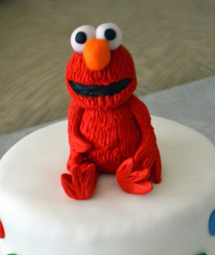 Elmo Cake Decorations : Elmo Cake Topper 100% Edible