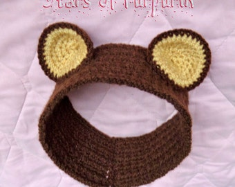 Teddy Ears - For Baby - Headband, Ornament, Photoshoot, Photo Shoot, Costume