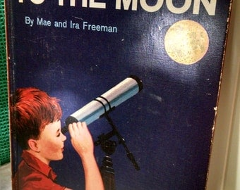 Vintage Beginner Books You Will Go To The Moon
