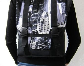 Laptop Backpack, Crossbody Bag, Satchel Rucksack, Messenger Bag, Hipster Backpack, School Backpack, Waterproof, Vegan, Convertible