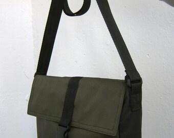 Khaki crossbody bag Small messenger bag Khaki cross body bag Waterproof shoulder purse