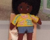NIB Vintage African American Doll Shindana Li'l souls Wilky