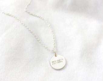 Coordinates chain sterling silver
