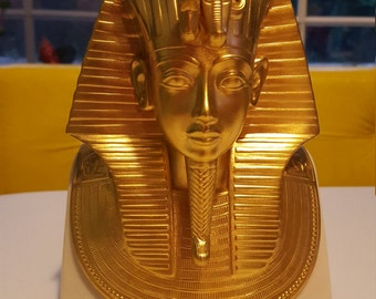 Lenox The Gold Mask of Tutankhamun 24 Karat Gold Egypt Mummy King Tut