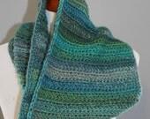 Everyday Mosaic Cowl Handmade Crocheted