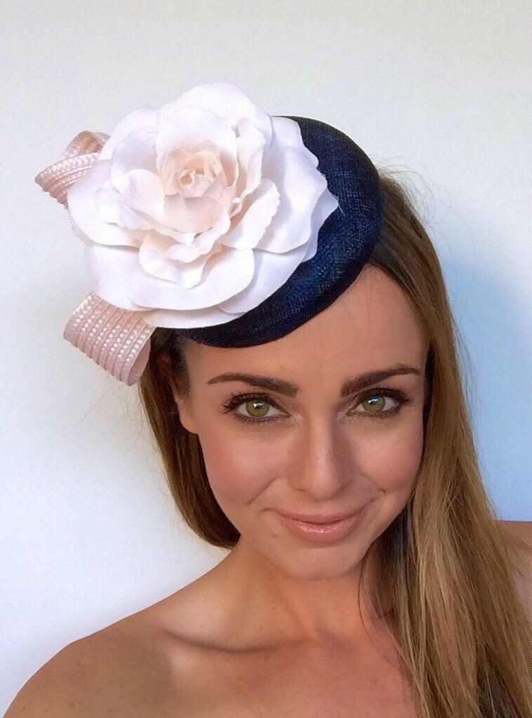 derby hats for ascot fascinator navy fascinator races