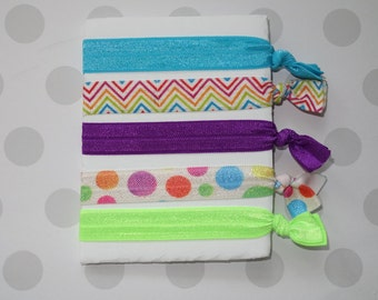 Multi Colored Elastic Hairties