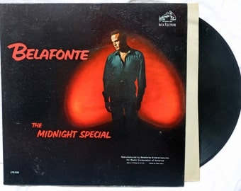 Harry Belafonte in The Midnight Special  Recorded at RCE Victor  LSP 2449 in 1962