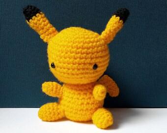Pikachu Amigurumi Pokemon