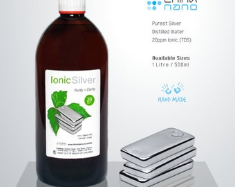 Ionic Silver UK 20ppm