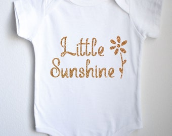 Little Sunshine Baby 1sie One-piece Bodysuit