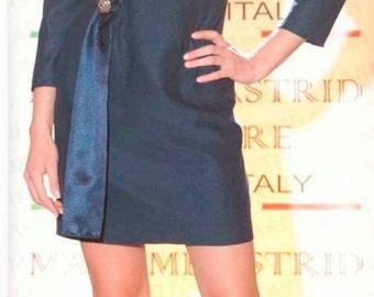 sheath dress with long sleeve, long sleeve sheath dress/short side band/princess dress