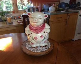 Shawnee Pig Cookie Jar