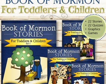 Complete Book of Mormon Stories (For Toddlers and Children) - INSTANT DOWNLOAD