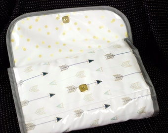 Diaper Changing Pad Clutch