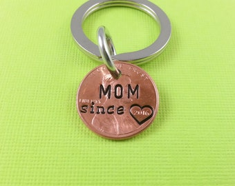 Mom Stamped Penny - Gift for Her - Daughter Gift For - Stamped Penny - Son