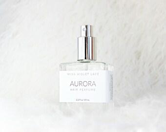 Aurora Hair Perfume | Jasmine + Strawberry | 100% natural, vegan and organic
