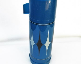 Vintage Aladdin Thermos   Coffee Thermos   Camping Gear   Harlequin   Beverage Holder   Lunch Thermos