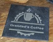 Coffee Slate Personalised Coaster