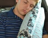RESERVED FOR JEN Travel Pillow Seat belt Pillow Cushion Car Seat Pillow Travel Car Kids Booster Seat Pillow Shoulder pad Pillow Cushion