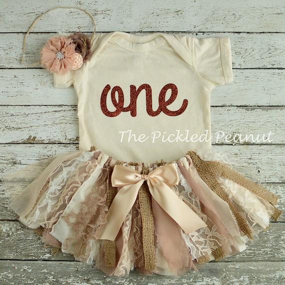 Vintage tutu shabby chic birthday outfit 1st birthday outfit - Shabby chic outfit ideas ...