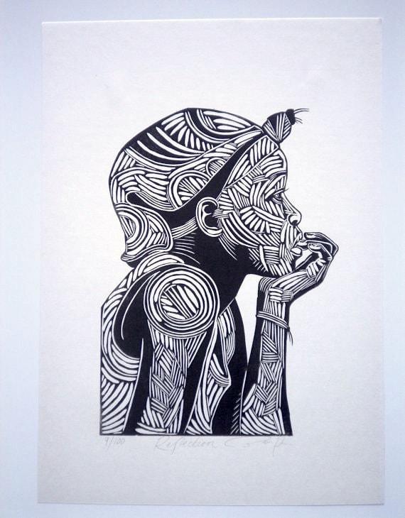 Articles similaires r flexion art graphique noir et for Dessin graphique noir et blanc