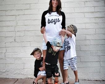 THE ORIGINAL I Only Make BOYS™ Tshirt, Mom of boys, mama to boys shirt, mom shirt, mom life, mom of all boys, moms with boys