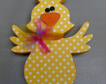 Easter Decor, Spring Decor, Easter Chick, Standing Chick