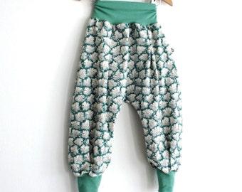 Baby Girl Harem Pants, Baby Harem Pants, Baby Girl Pants, Girl Harem Pants, Liberty Harem Pants, Baby Harem Trousers, Aladdin Trousers