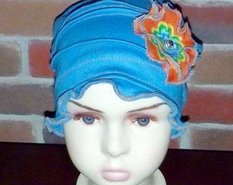 Handmade chemo hats/caps for girls (teenagers) or children