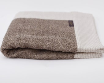 Organic Linen Cotton Terry Bath Mat