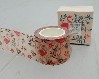Flamingo 3cm Washi Tape 10m roll