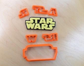 Star Wars Logo Fondant Cutter Set