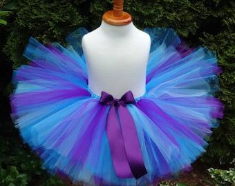 Purple Blue Tutu, Turqouise Tutu, Photoprop Tutu, Purple Tutu, Baby Tutu, Birthday Tutu, Toddler Tutu, Cakesmash Tutu, Blue Newborn Outfit