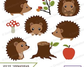 hedgehog clipart – Etsy DE