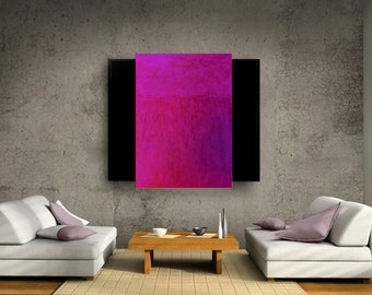 ABSTRACT PAINTING original total art design fine art textured triptych modern art paintings acrylic painting contemporary wall art Carol Lee