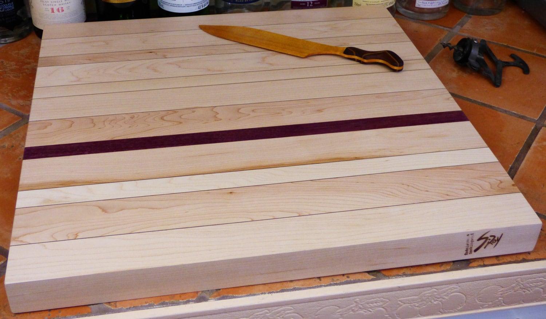 Wood Countertop Cutting Board Small