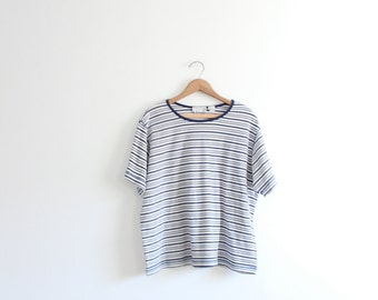 Wide Striped Basic 90s Tee