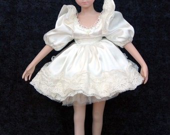 """Brinn Ballerina Ballet Doll, Collectible Doll, Gifts for Her, Porcelain Doll, Display Ready, Vintage Doll, 16"""" Bisque Doll, Brinns Doll"""