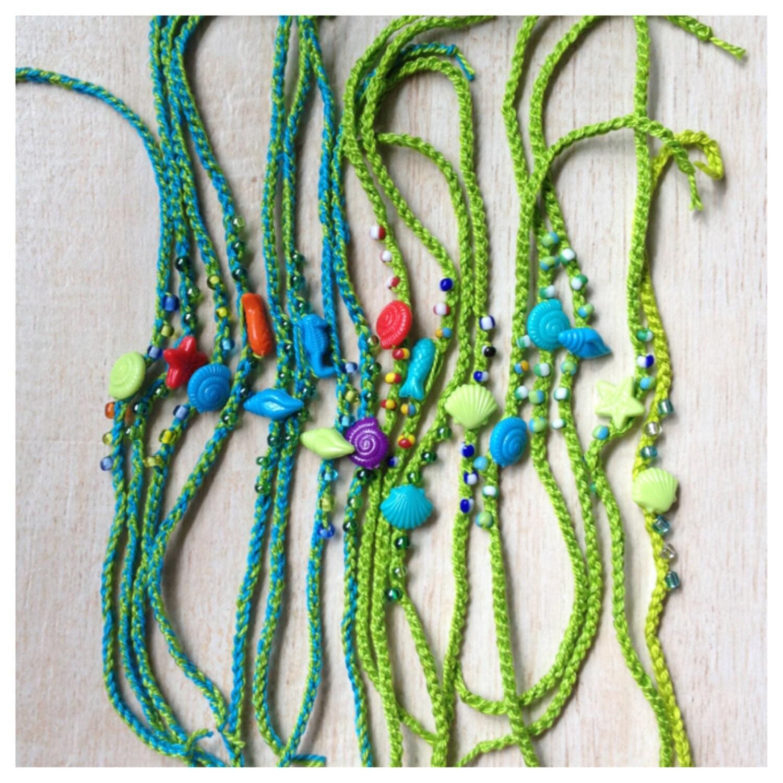 friendship bracelet mermaid costume crochet sea birthday