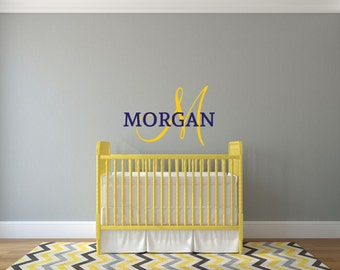 Custom Personalized Name - Wall Decal