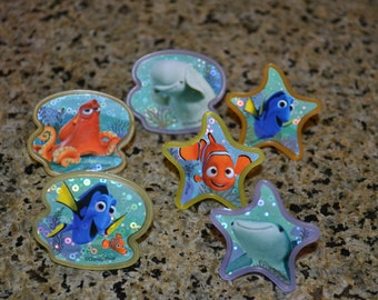 Finding Dory Party Favor Rings/Rings/Party Rings/Finding Dory
