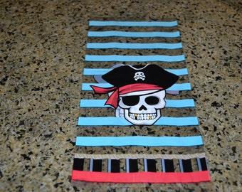 25 Pirate Cello Bags/Cello Bags/Candy Bag/Pirate Loot Bag/Party Favor Bag/Favor Bag/Party Bag/Pirate Bag/Pirate