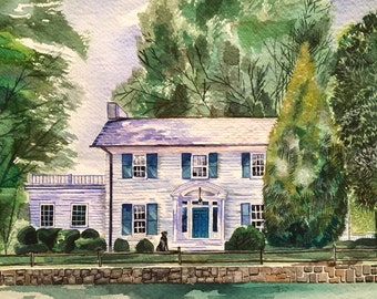 Custom Home Painting - Great housewarming gift!