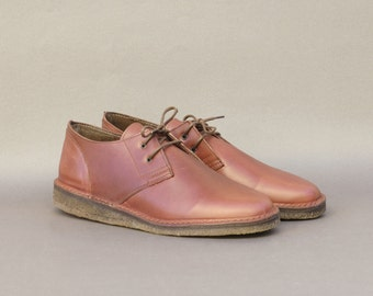 Derby Shoes - Leather - Brown - Handmade in Italy