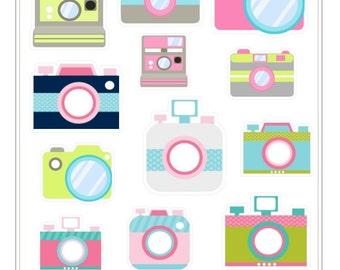 G024- Camera Stickers