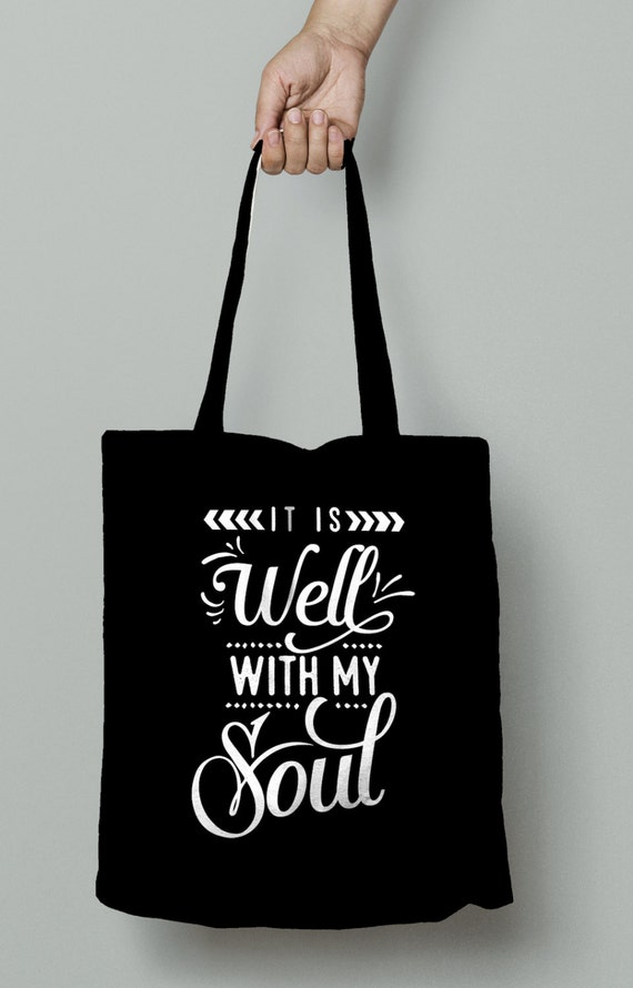 It is Well, Verse Tote