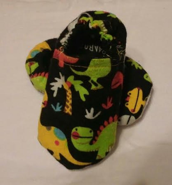 Dinosaur Baby booties/shoes/slippers