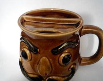 Mustache mug Vintage Japan
